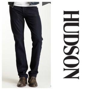 Hudson Jeans Byron Slim Straight Leg Jeans Black